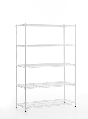 Commercial Grade Wire Shelving